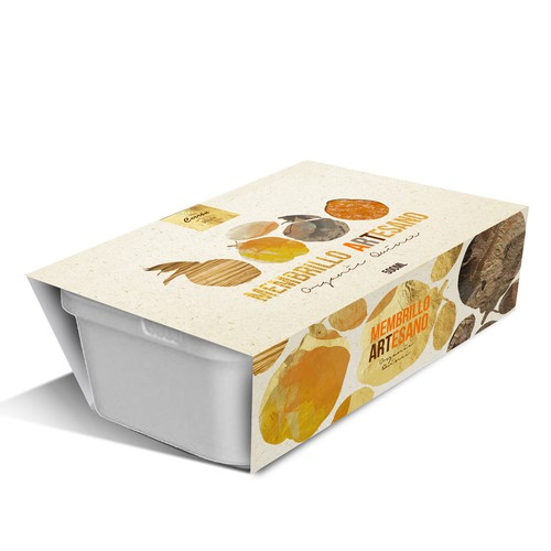 Membrillo Artesano, Organic Quince packaging design