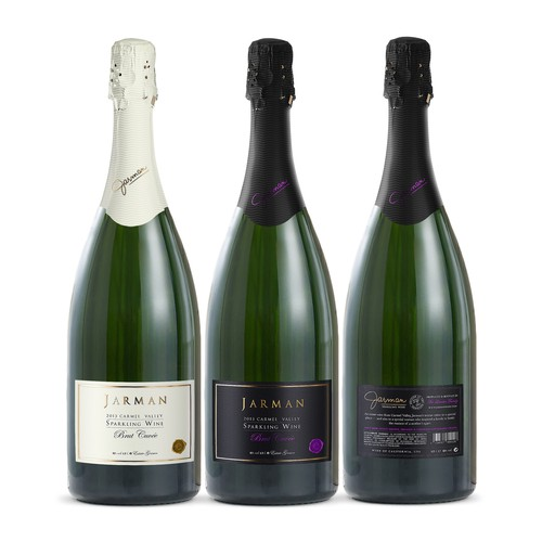 Jarman Sparkling Wine Label Design