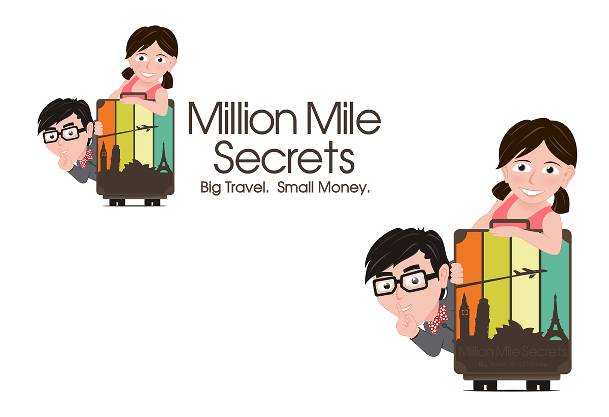 Help Million Mile Secrets with a new logo