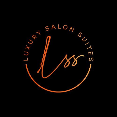 Logo Concept for the LUXURY SALON SUITES