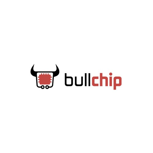 aggressive logo for BULLCHIP