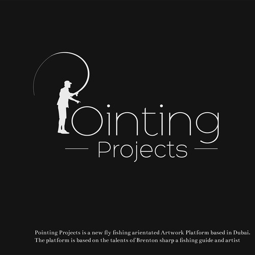 Pointing Progjects logo concept