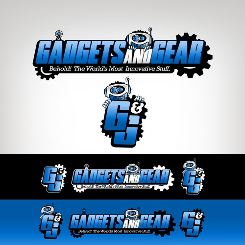 Gadgets and Gear New Logo Design