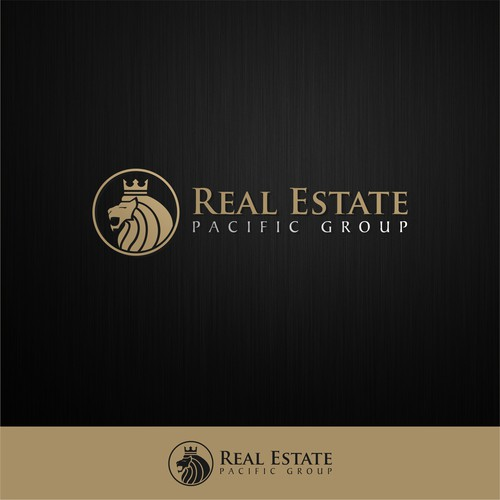 Luxury logo for real estate