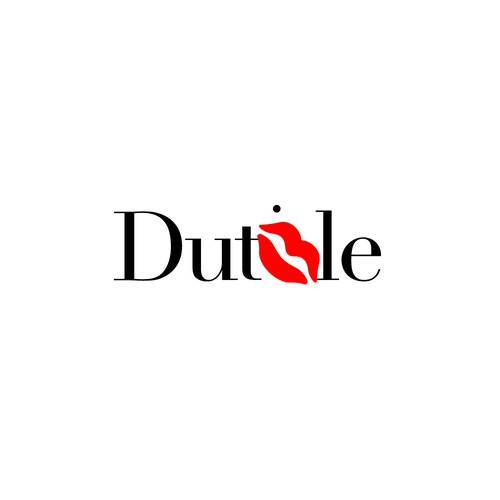Beauty concept logo for Dutble