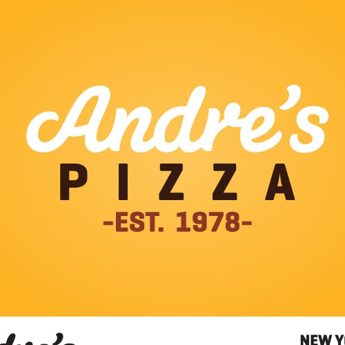 Andre's Pizza LA Branding