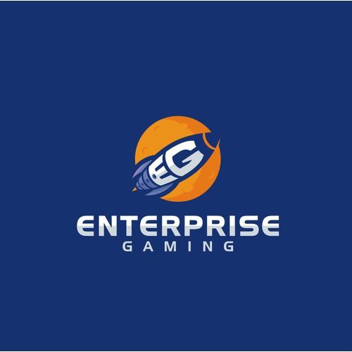 "Esports Team Logo ""Enterprise Gaming"""