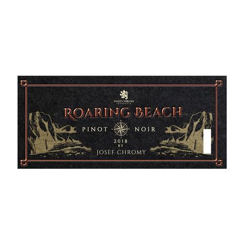Roaring Beach a Tasmanian wine