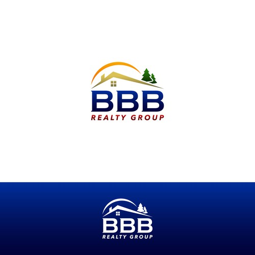 Modern logo for BBB realty group