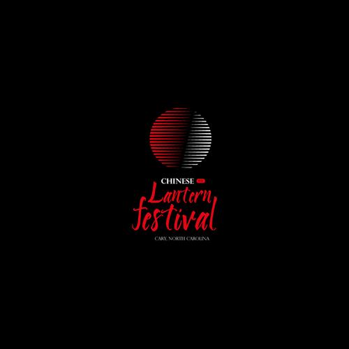 Chinese lantern festival logo