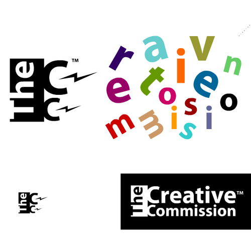 Create the next logo for The Creative Commission