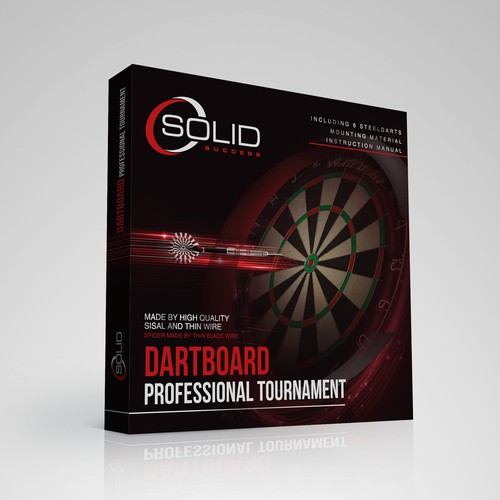 Dartboard Package Design