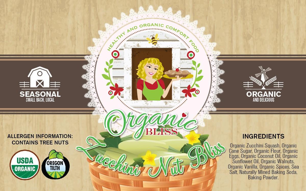Organic Bliss Labels