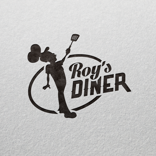 Create New Version of Old Logo for Local Diner