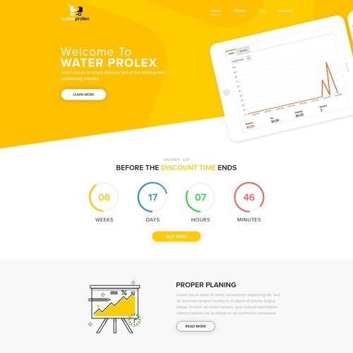 Waterprolex Website Design