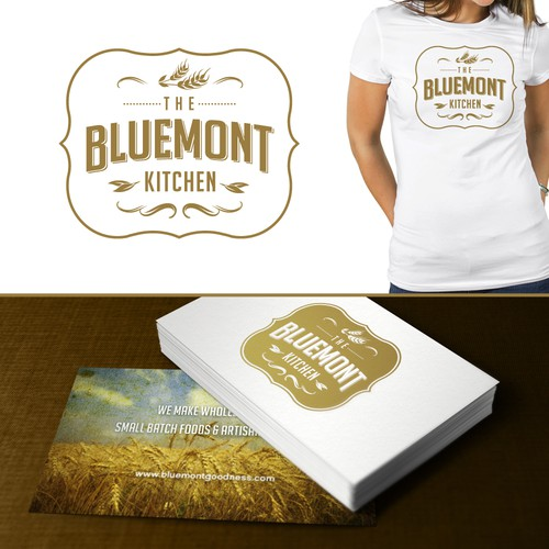 logo for The Bluemont Kitchen
