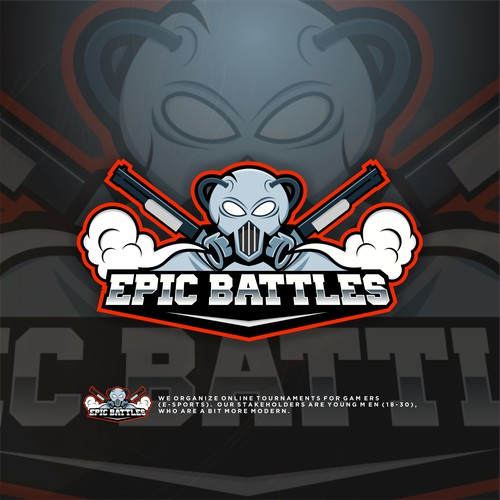 Epic battles logo esport