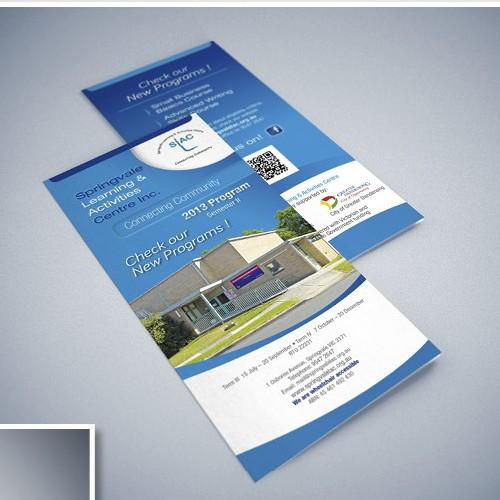 Brochure design for SLAC