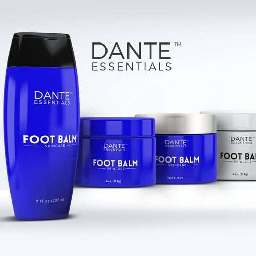 Dante Essentials Packaging Design