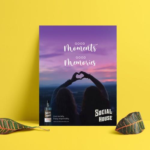 Vodka Magazine ad Design