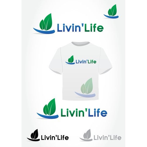 Create the next logo for Livin' Life