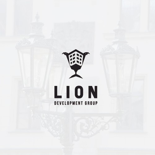 Unique and Iconic Logo For Lion Development Group