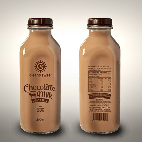 Chocolate Milk label
