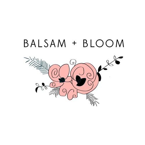 Balsam + Bloom Logo