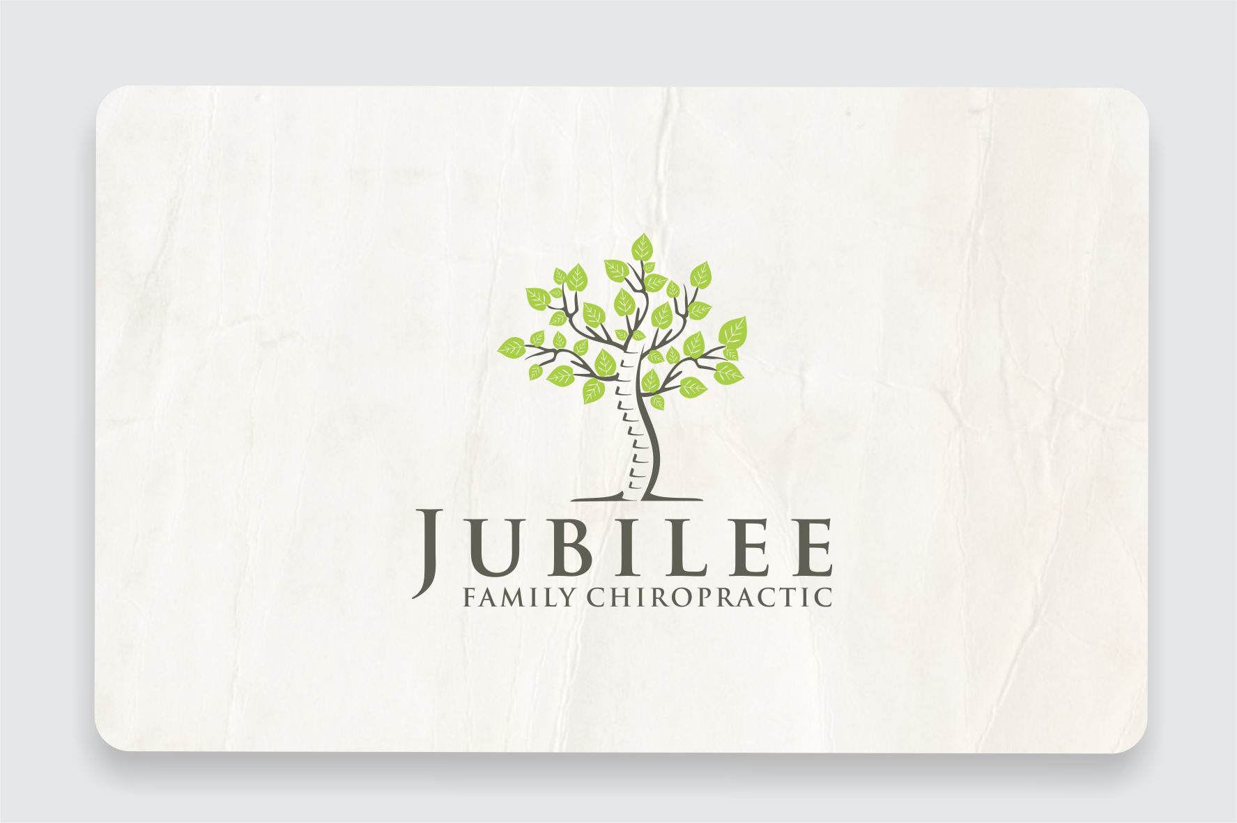 Help Jubilee Family Chiropractic with a new awesome logo!