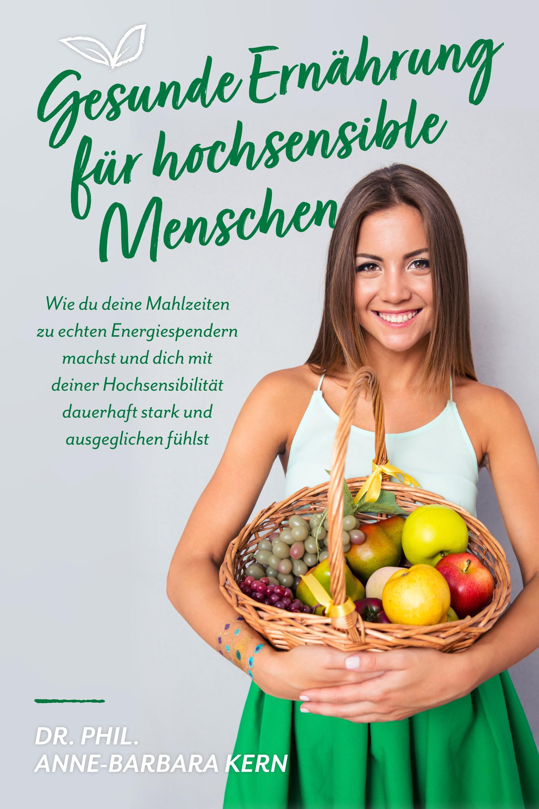 Ebook Cover - Ernährung für hochsensible Menschen