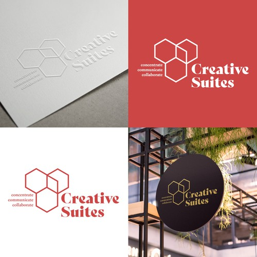 Logo concept for co-working office space