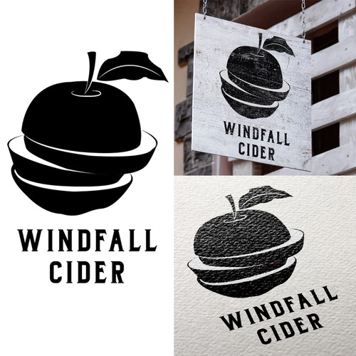 Logo Concept for Windfall Cider