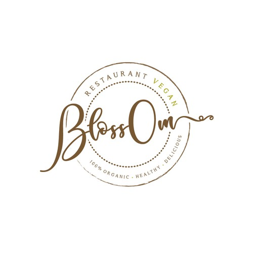 Logo design for vegan restaurant