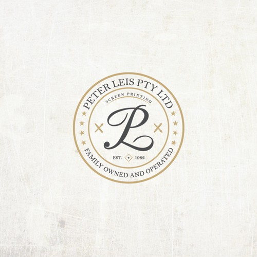Peter Leis Pty Ltd logo concept