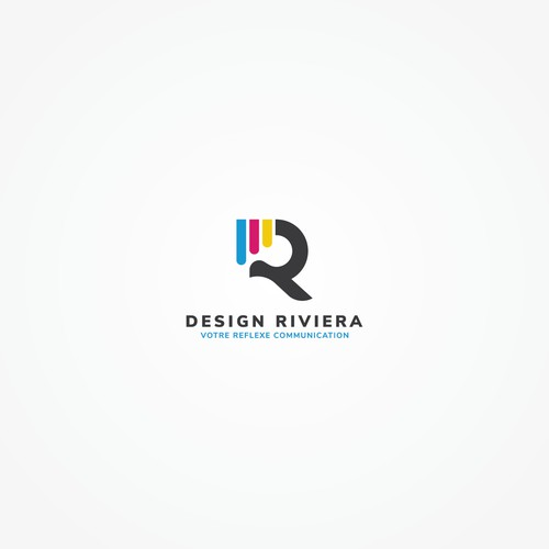 Logo for the design and printing company