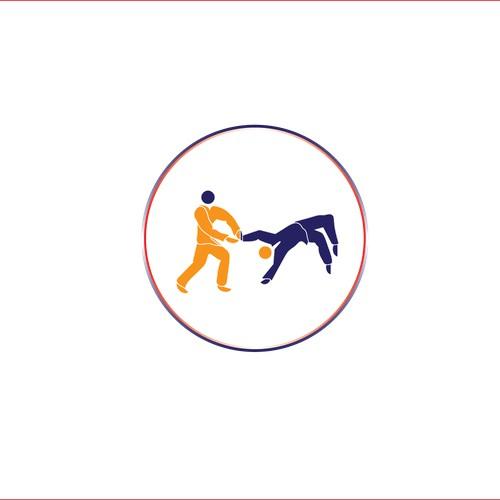 Create a catchy t-shirt logo for Brazilian Jiu-jitsu