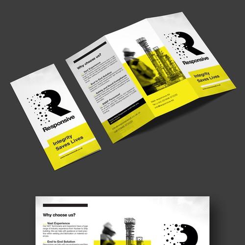 Responsive - tri-fold-brochure