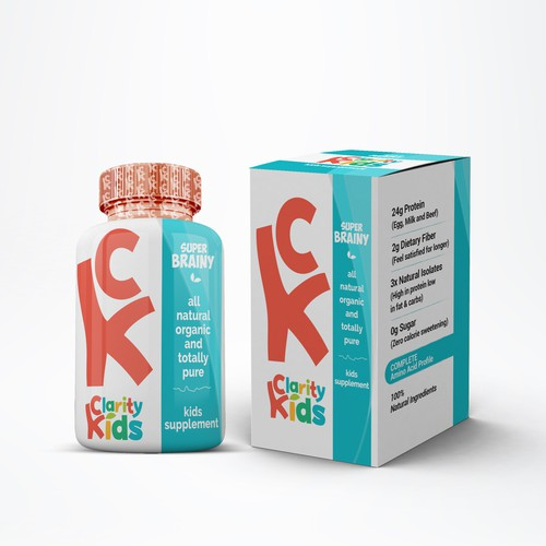 Kids Supplement Design