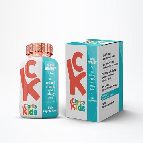 Kids Supplement Design