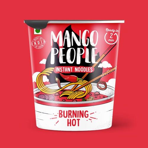 Mango People Instant Noodles