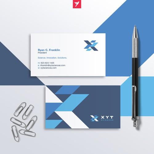 Geometric XYT monogram