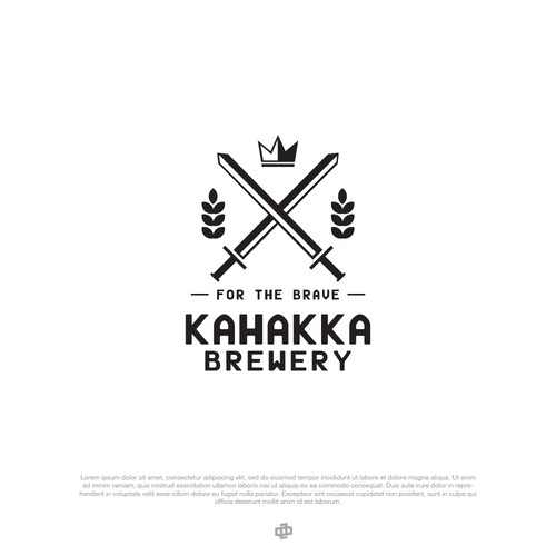 Logo Design Entri for KAHAKKA BREWERY