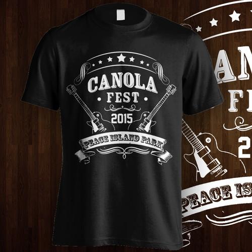 T shirt desaign Music Fest