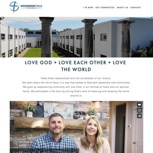 Woodmont Hills Church Website