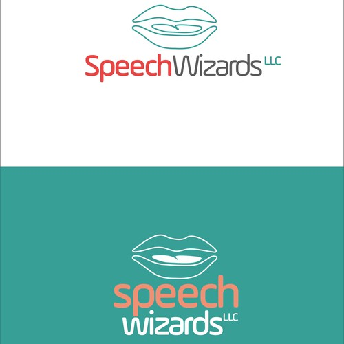 Create an innovative, attracting, and captive logo for Speech Wizards LLC.