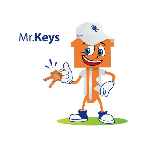Bring the Mr. Keys character to Life!