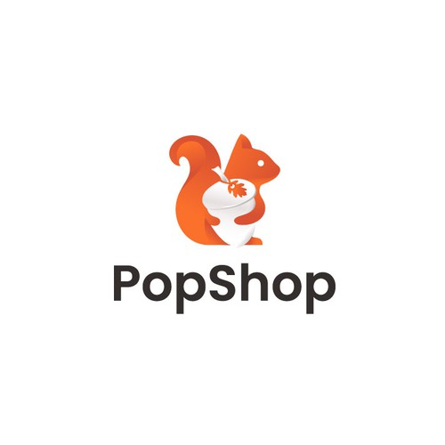 Logo for a store specialised in selling marchandising from famous pop culture universes