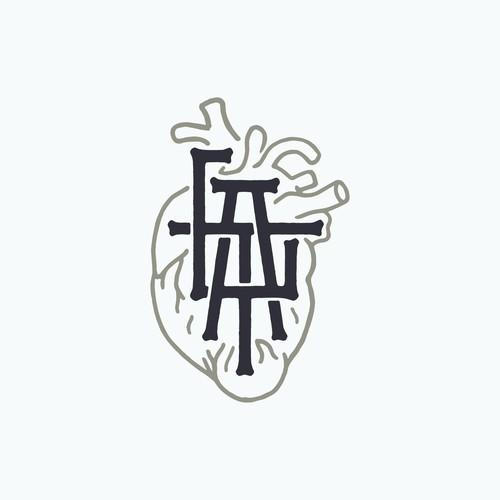 LTA monogram with heart