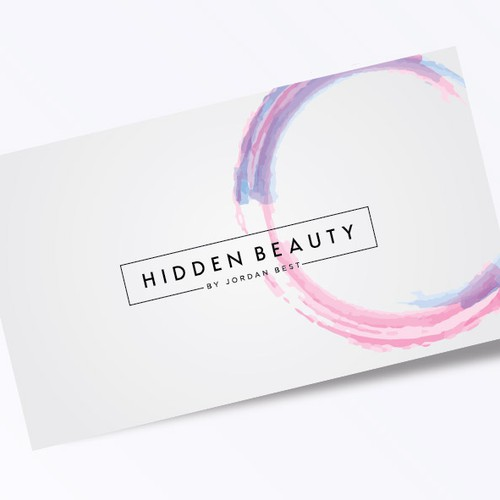 Hidden Beauty Salon Logo
