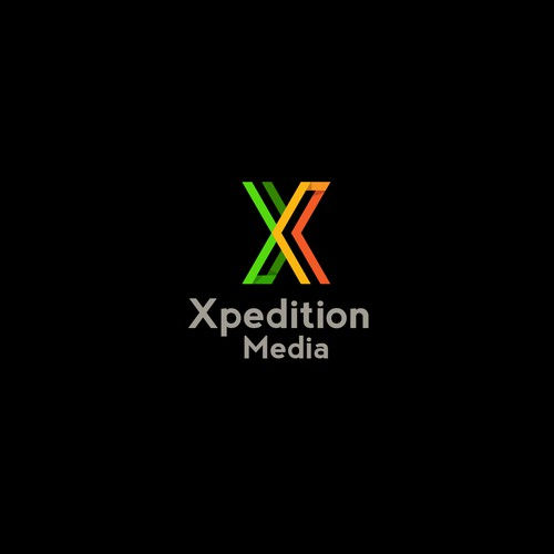 X shape logo for Xpedition Media